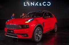 Automobile di CO & di LYNK 01 Immagini Stock Libere da Diritti