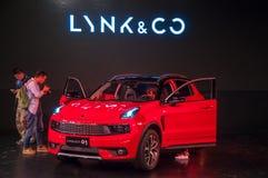 Automobile di CO & di LYNK 01 Immagine Stock Libera da Diritti