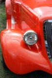 Automobile di colore rosso dell'annata Fotografia Stock Libera da Diritti