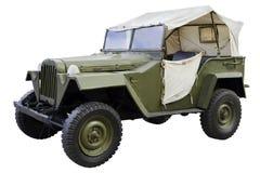 Automobile di commando militare Immagine Stock Libera da Diritti