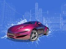 Automobile di concetto Immagine Stock