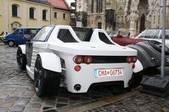 Automobile di concetto del carbonio Fotografia Stock