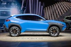 Automobile di concetto dell'adrenalina di Subaru Viziv fotografia stock libera da diritti