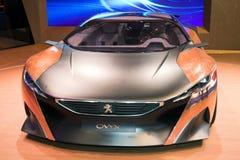 Automobile di concetto dell'onyx di Peugeot Fotografia Stock