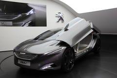 Automobile di concetto della Peugeot HX1 Fotografie Stock