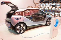 Automobile di concetto di BMW i3 Fotografia Stock Libera da Diritti