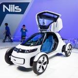 Automobile di concetto di Volkswagen Nils Fotografia Stock Libera da Diritti