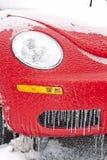 Automobile di congelamento Fotografie Stock