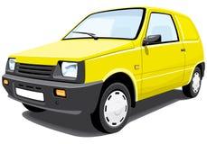 Automobile di consegna Immagine Stock Libera da Diritti