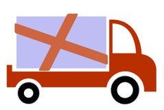 Automobile di consegna Fotografie Stock