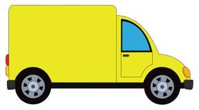 Automobile di consegna Fotografia Stock Libera da Diritti