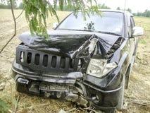 automobile di danno Immagini Stock Libere da Diritti