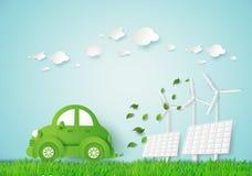 Automobile di Eco illustrazione di stock