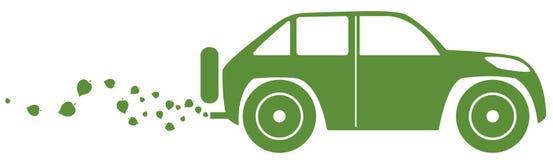 Concetto del eco-car Fotografia Stock Libera da Diritti