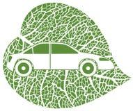 Concetto del eco-car Immagine Stock Libera da Diritti