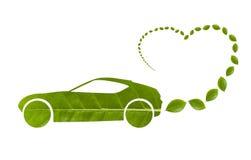 Automobile di ecologia fotografia stock