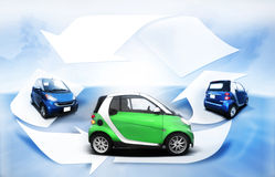 Automobile di economia Immagini Stock