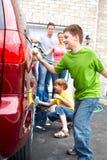 Automobile di famiglia Fotografia Stock Libera da Diritti