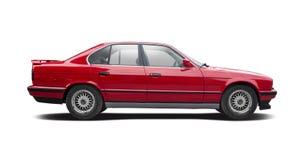 Automobile di famiglia premio isolata su bianco Fotografia Stock Libera da Diritti