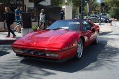 Automobile di Ferrari Testarossa su esposizione fotografie stock
