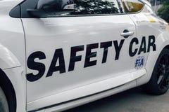 Automobile di FIA Safety o automobile di passo fotografia stock libera da diritti