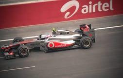 Automobile di Formula 1 Fotografia Stock