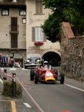 Automobile di formula 2 al Gran Premio storico 2015 di Bergamo Immagine Stock