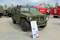 Automobile di GAZ Tigr-M Fotografia Stock