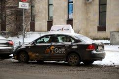 Automobile di Gett Fotografia Stock Libera da Diritti