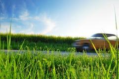 Automobile di giro di estate Fotografie Stock Libere da Diritti