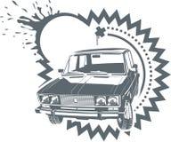 Automobile di Lada di vettore Fotografie Stock Libere da Diritti