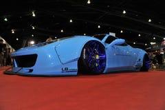 Automobile di Lamborghini al terzo autosalon internazionale 2015 di Bangkok il 27 giugno 2015 a Bangkok, Tailandia Immagine Stock