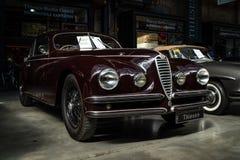 Automobile di lusso Alfa Romeo 6C 2500 S Berlinetta che visita Coupe, 1947 fotografie stock
