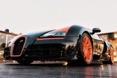 Automobile di lusso Bugatti 3B della Sardegna Fotografia Stock