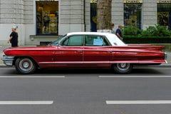 Automobile di lusso 100% Cadillac Fleetwood, 1962 Fotografia Stock Libera da Diritti
