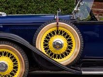 Automobile di lusso d'annata classica Fotografia Stock