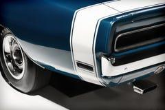 Automobile di lusso d'annata Fanale posteriore e parte del paraurti fotografia stock libera da diritti
