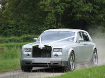 Automobile di lusso di cerimonia nuziale Fotografia Stock Libera da Diritti