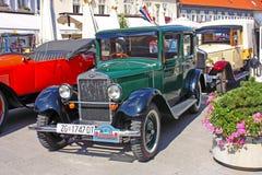 Automobile di lusso Laurin e clemente, Skoda 120 Immagine Stock
