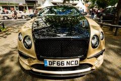 Automobile di lusso personale Bentley Continental Supersports, 2017 Fotografia Stock