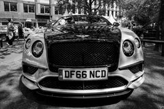 Automobile di lusso personale Bentley Continental Supersports, 2017 Fotografia Stock Libera da Diritti