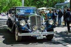 Automobile di lusso Pierce-Freccia, 1933 Immagini Stock