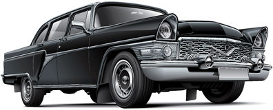 Automobile di lusso sovietica Fotografia Stock Libera da Diritti