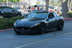 Automobile di Maserati GranTurismo su esposizione Fotografie Stock