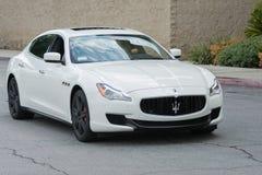 Automobile di Maserati GranTurismo su esposizione Immagine Stock Libera da Diritti