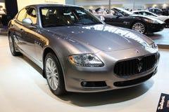 Automobile di Maserati Quattroporte Immagine Stock Libera da Diritti