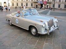 Automobile di Mercedes di sport dell'annata Fotografie Stock