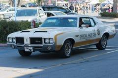 Automobile di Oldsmobile su esposizione Immagine Stock Libera da Diritti