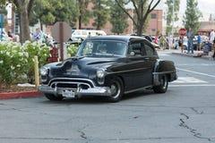 Automobile di Oldsmobile su esposizione Fotografia Stock Libera da Diritti
