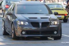 Automobile di Pontiac G8 GT su esposizione Immagini Stock Libere da Diritti